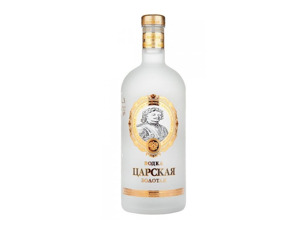 Carskaja Gold Vodka, 40%, 1l