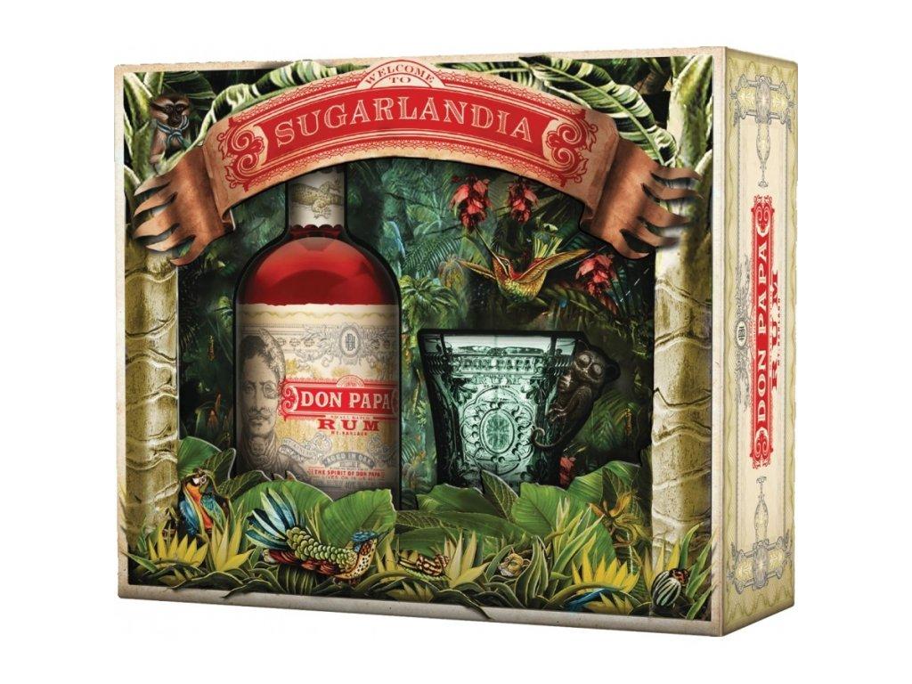 Don Papa Sugarlandia 40% 0,70 L + pohár