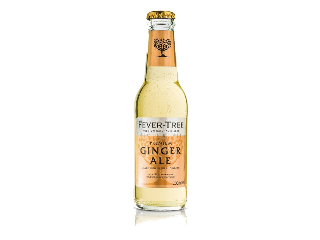 Fever Tree Ginger Ale Tonic 0,20 L x 4