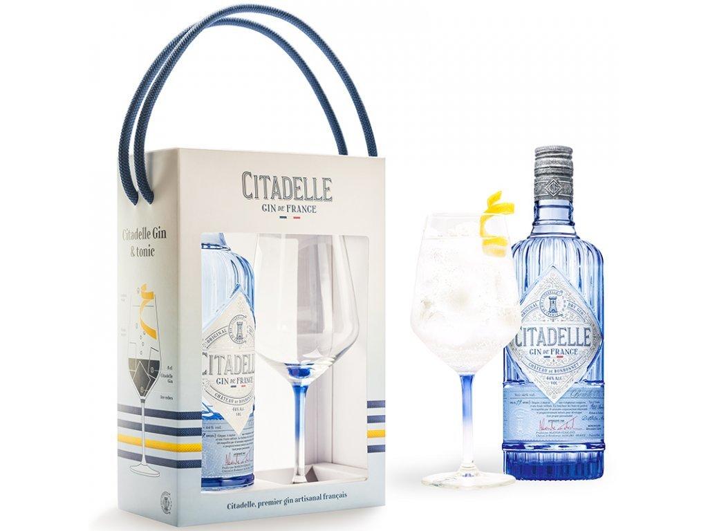 Citadelle Gin Original Glass Set, 0,7l