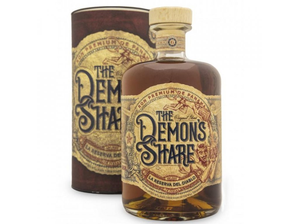 The Demon's Share Rum Gift, 40 %, 0.7l