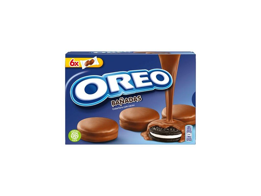 Oreo sušienky s vanilkovou náplňou, kakaová poleva 246 g