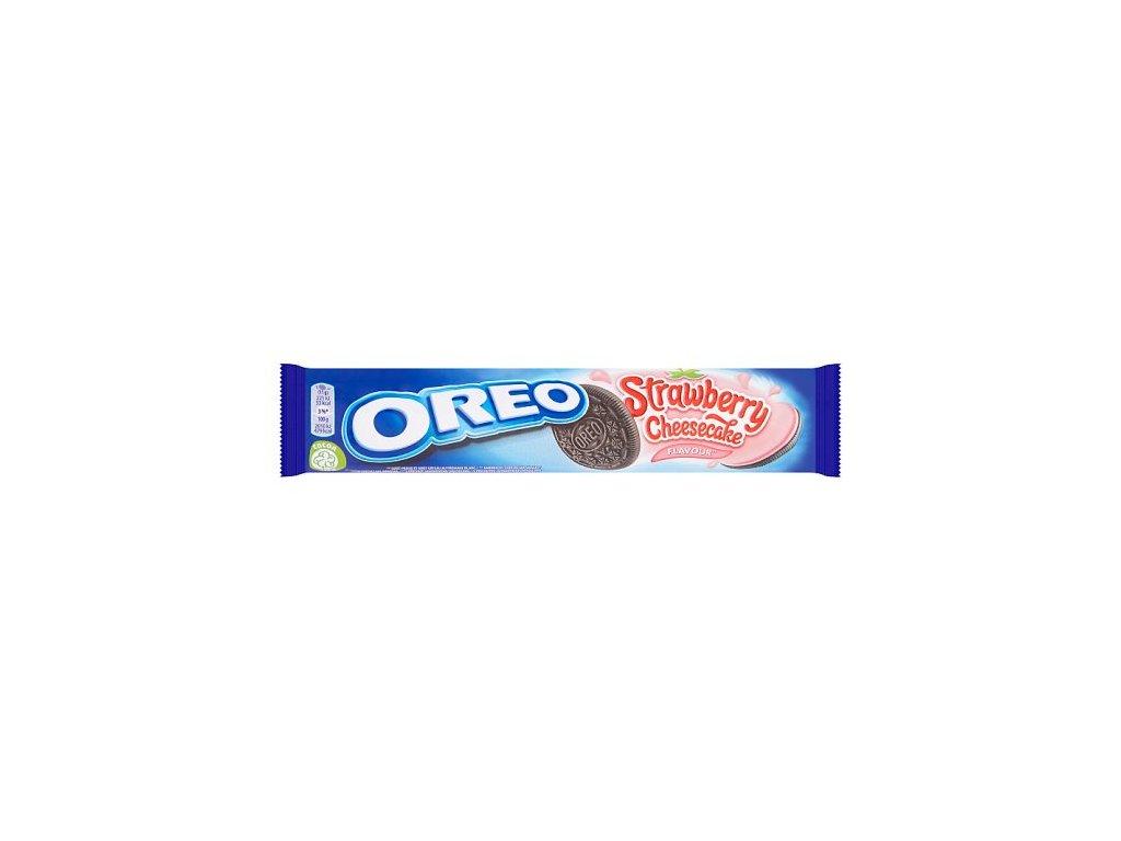 Oreo Strawberry Cheesecake sušienky 154 g