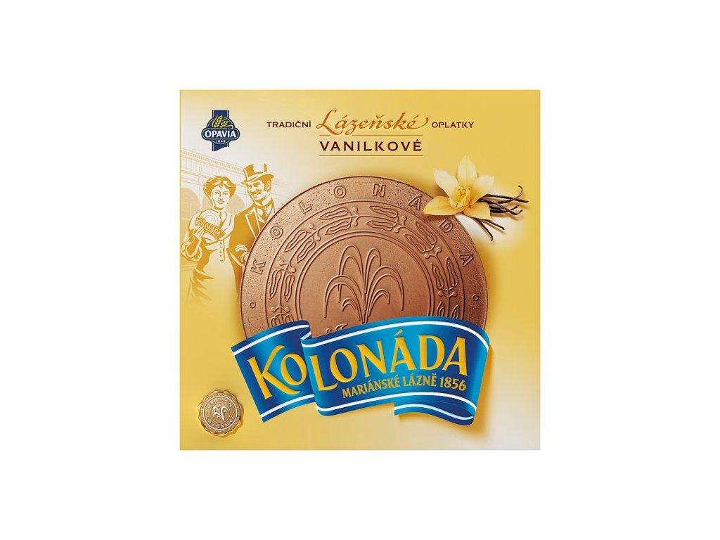 Opavia Kolonáda kúpeľné oplátky vanilkové 195 g