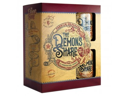 The Demon's Share Rum Set, 40 %, 0.7l