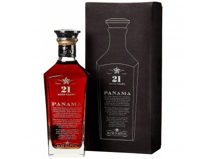 Rum Nation 21 Y.O. Panama 0,7l