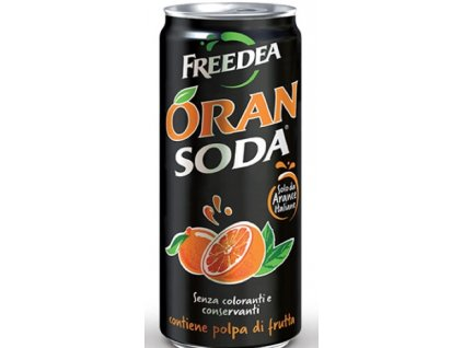 Freedea SODA Orange 0,33l  x6