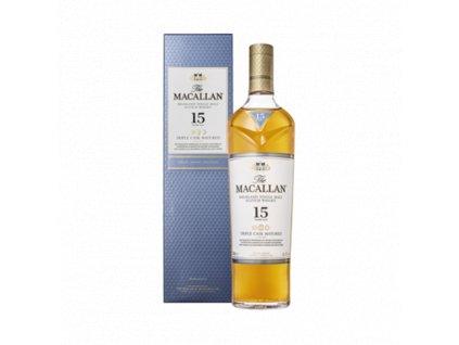 Macallan 15YO - Single Malt Triple Cask 40% 0,7l
