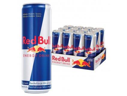Red Bull energetický nápoj 12x473 ml