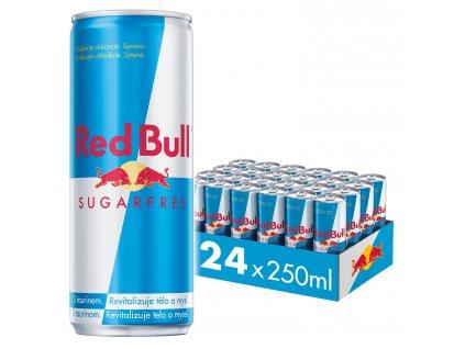 Red Bull Sugarfree energetický nápoj 24x250 ml