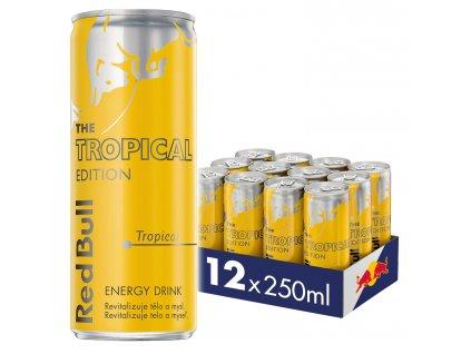 Red Bull Tropical edition energetický nápoj 12x250 ml