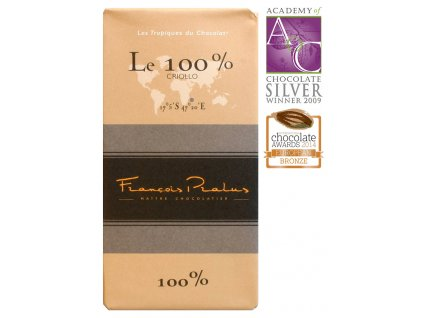 Čokoláda Francois Pralus Madagascar 100%, 100g