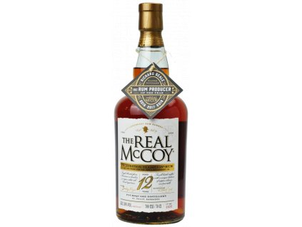 the real McCoy 12 100 proof