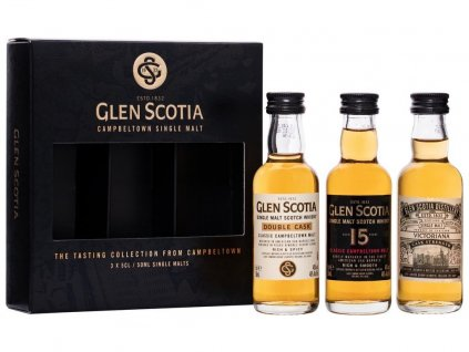 391248 glen scotia tasting set 3 x 0 05l