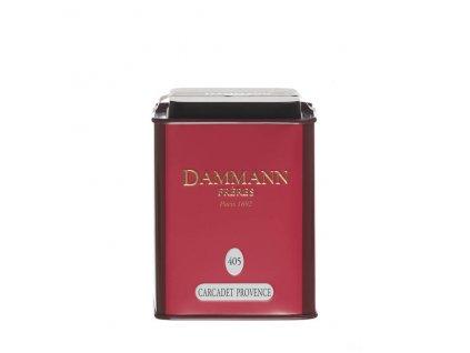 Dammann Fréres La Boite Carcadet Provence, N°405, 100 gr. 6390, ovocný čaj, sypaný, v plechovej dóze