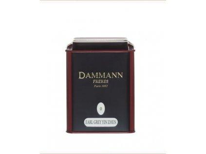Dammann Fréres La Boite Earl Grey Yin Zhen N°0, 100 gr. 6745, čierny čaj, sypaný, v plechovej dóze