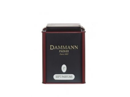 Dammann Fréres La Boite 7 Parfums, N°17, ochutený, 100 gr. 6762, čierny čaj, sypaný, v plechovej dóze