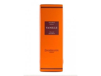 Dammann Fréres Sachets Rooibos Vanille, 24 x 2 gr. 8204, červený čaj, porciovaný, v krištáľových sáčkoch, hygienicky balené