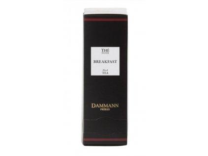 Dammann Fréres Sachets Breakfast, 24 x 2 gr. 4970, čierny čaj, porciovaný, v krištáľových sáčkoch, hygienicky balené
