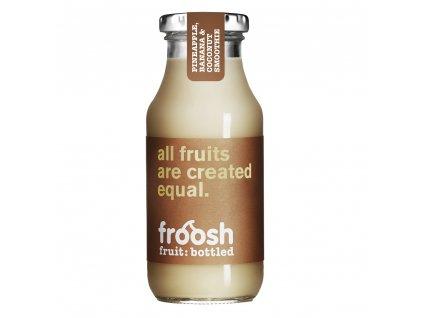 Froosh smoothie ananás, banán a kokos - 250ml