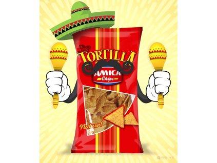 Tortilla chips Natural 200g