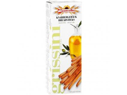 Grissini s olivovým olejom 125g