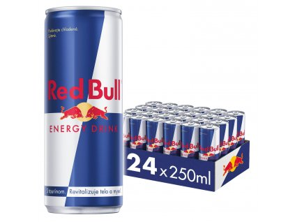 Red Bull energetický nápoj 24x250 ml