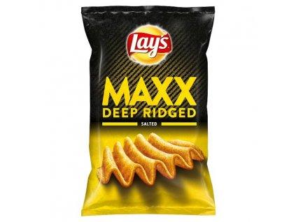Lay's Maxx Vyprážané zemiakové lupienky slané 130 g