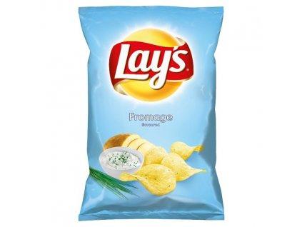 Lay's Vyprážané zemiakové lupienky s príchuťou smotanového syra a bylín 140 g
