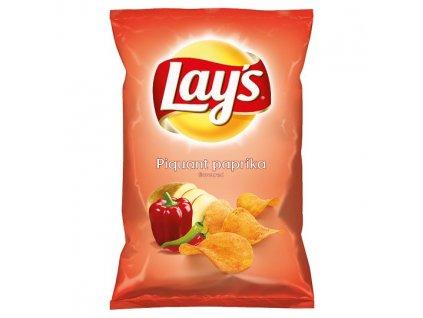 Lay's Vyprážané zemiakové lupienky s príchuťou štipľavej papriky 140 g