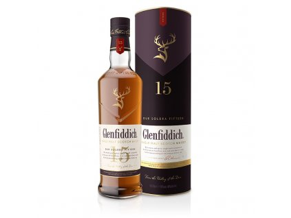 Glenfiddich 15 ročná 0,7l