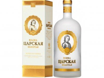 Carskaja Gold Vodka, 40%, 0,7l, darčekové balenie