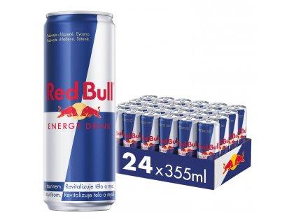 Red Bull energetický nápoj 24x355 ml