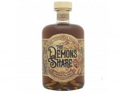 The Demon's Share Rum, 40 %, 0.7l