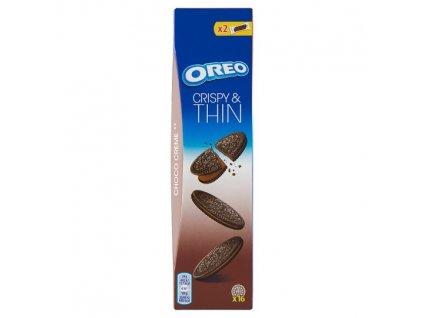 Oreo Crispy and Thin tenké sušienky s kakaovou náplňou 96 g