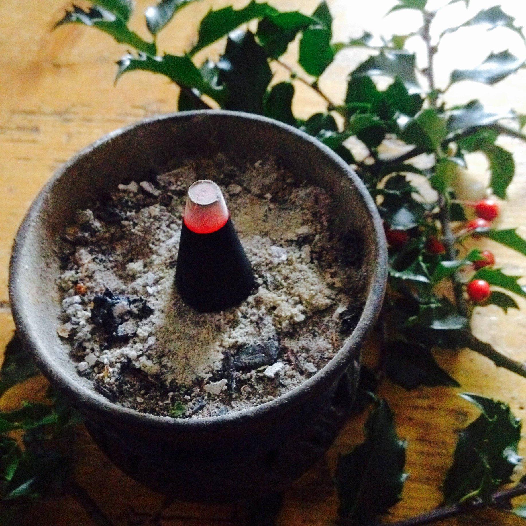 Vánoční vykuřování voní kadidlově