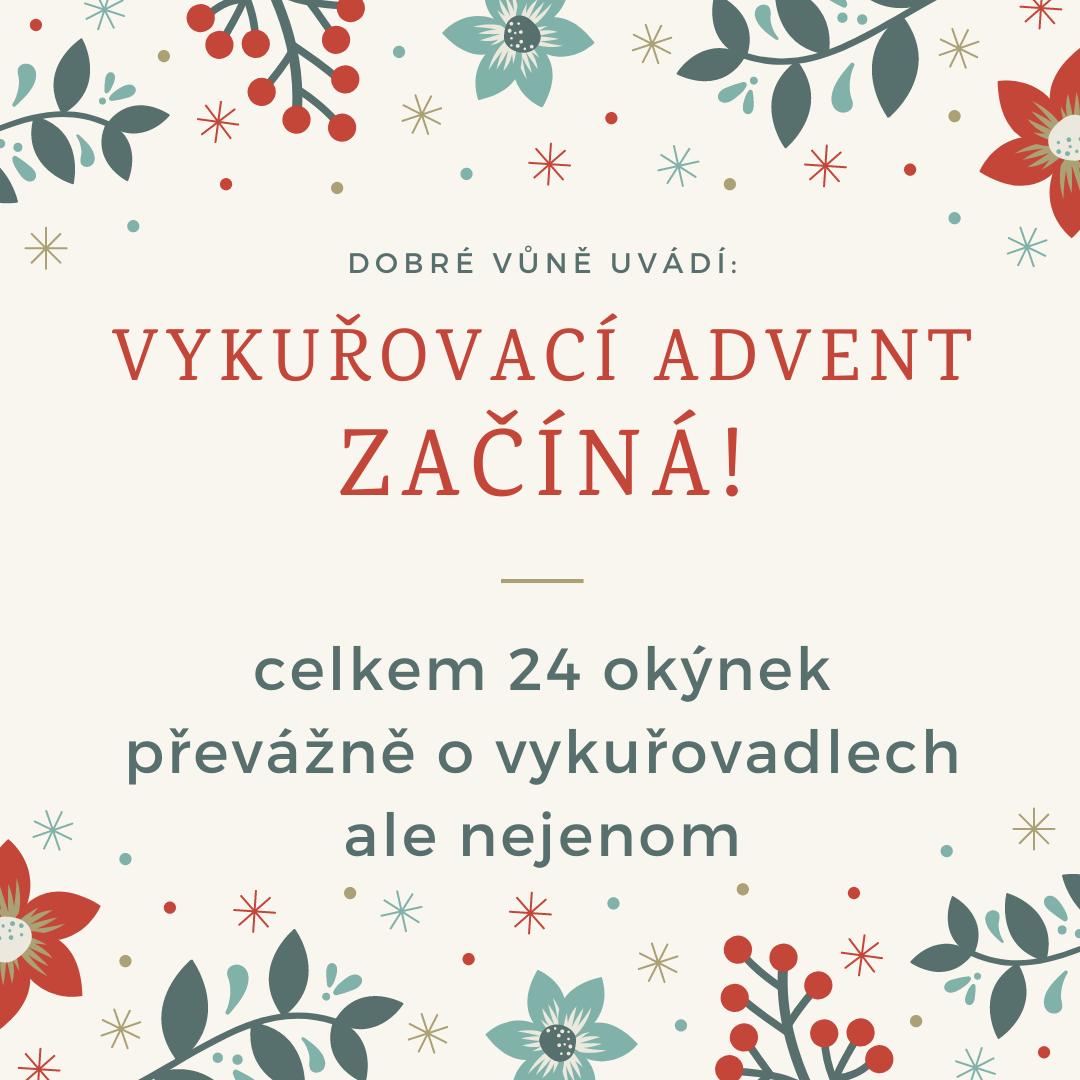 Adventní vykuřovací kalendář