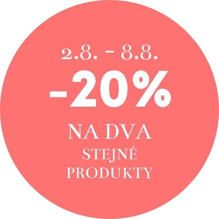 Celý týden nakupujte s 20% slevou