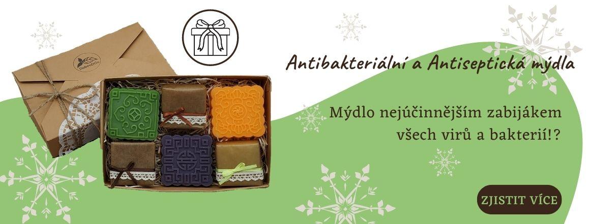 antibakteriální a antiseptická mýdla