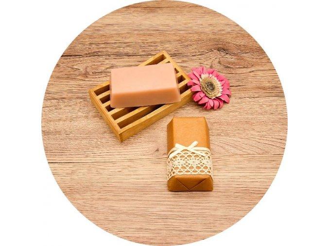 Komtesa - mýdlo s vůní mandle - cihla 150 g