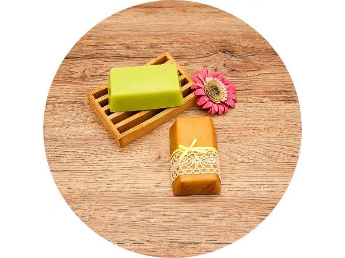 Mistr SUN - mýdlo s vůní zeleného čaje - cihla 150 g