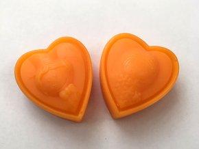 Kapitán Fruktus - mýdlo s vůní mandarinky - manželé set 2 x 45 g