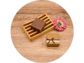 Soaré - mýdlo s vůní santalového dřeva - kostka 70 g