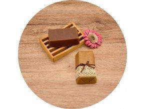 Soaré - mýdlo s vůní santalového dřeva - cihla 150 g