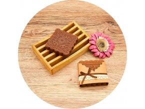 Soaré - mýdlo s vůní santalového dřeva - čtvereček 50 g
