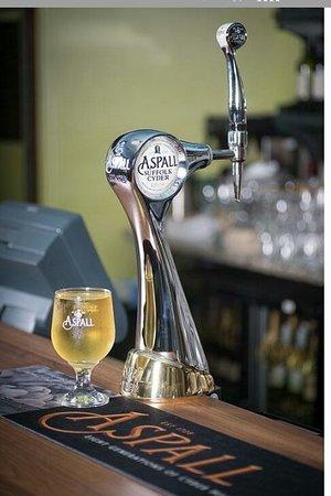 Aspall Draught - kde se čepuje