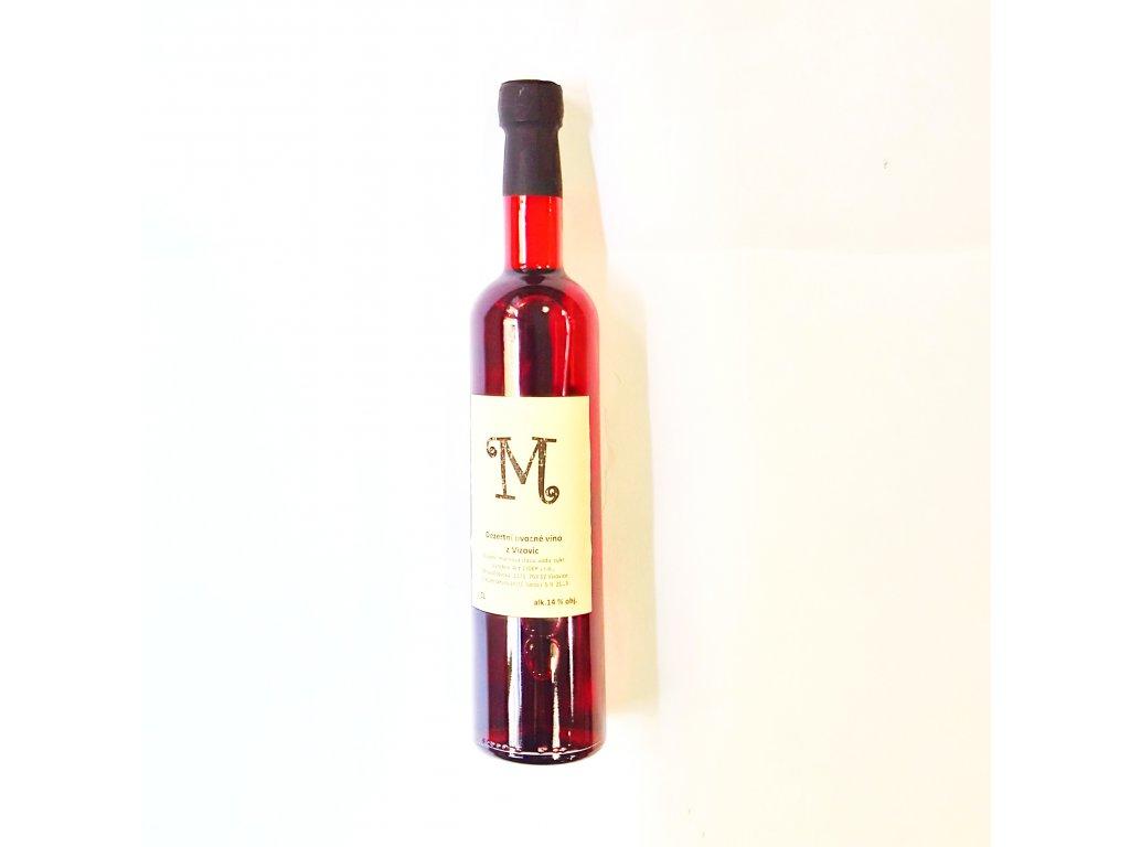 A.K. ovocné víno Malina 500ml
