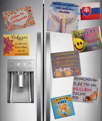 magnetky na chladničke