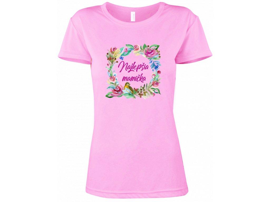 Tričko ♥ Najlepšia mamička 1