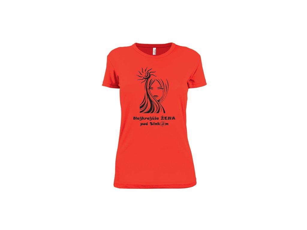 tričko naj zena pod slnkom tric ko